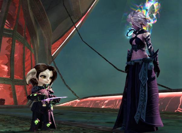 Screenshot of the Commander & Taimi