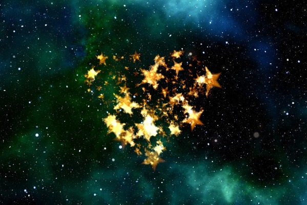 heart of stars graphic by geralt on Pixabay