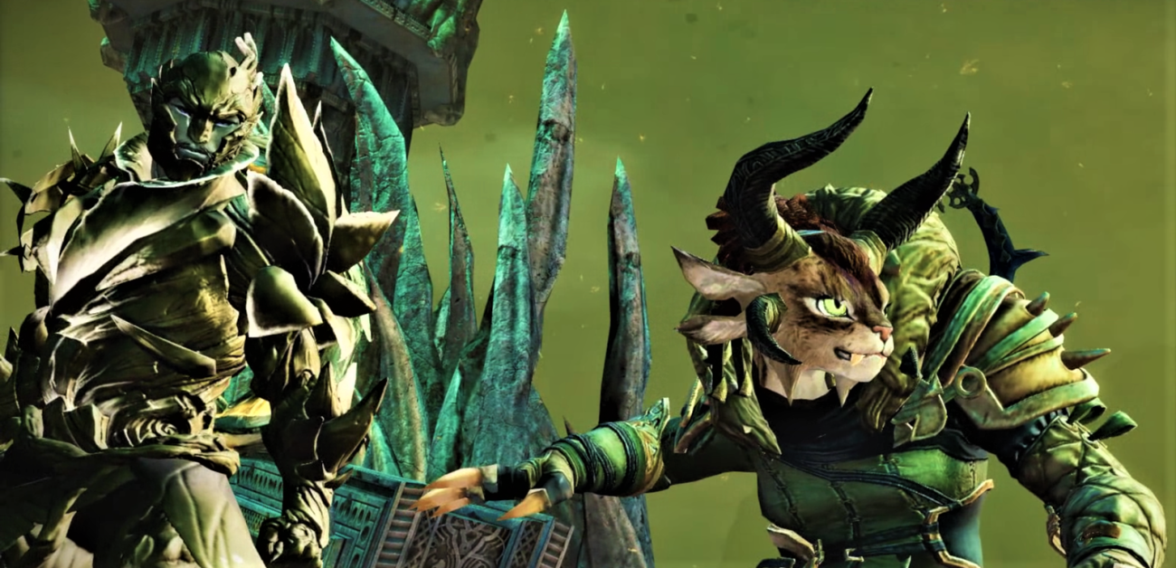 Rox and Canach face Joko's army as the gates of the Moon Palace are blown open